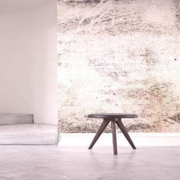 Let your appreciation for rustic creativity be known with the Rustic Render Wall Mural. This