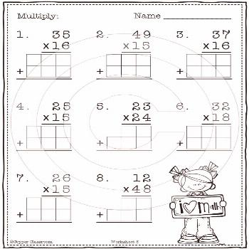 2 Digit By 2 Digit Multiplication Classroom management Classroom management    2 digit by 2 digit m