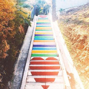 37 Most Instagrammable Places in Los Angeles » Local Adventures in LA Micheltorena Steps in Silver