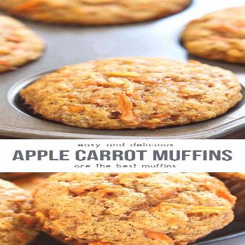 Apple Carrot Muffins Aka Sunshine Muffins that very delicious. Please find detai...,Baking Muffins
