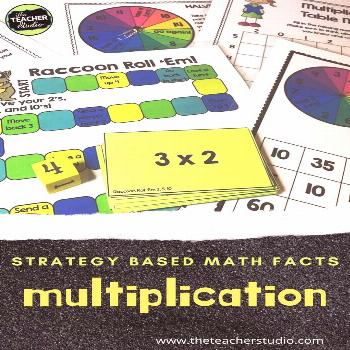 Building Multiplication Fact Fluency - The Teacher Studio Learning multiplication concepts is an es