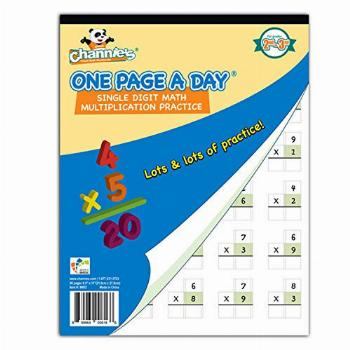 Channies One Page A Day Single Digit (Beginner)