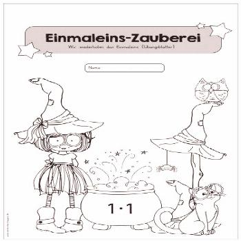 Cover page for a exercise book for multiplication magic. Dear Sina had the ...,Cover page for... Co
