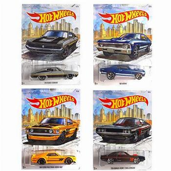 Detroit MUscle Car Exclusive Series 68 NOVA 69 Ford Mustang