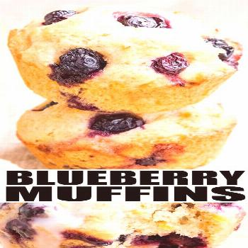Easy Lemon Blueberry Muffins LEMON BLUEBERRY MUFFINS RECIPE- The best, quick and easy homemade muff