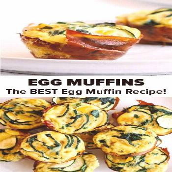 Egg muffins are a healthy, simple and tasty way to enjoy breakfast. They're al... - -