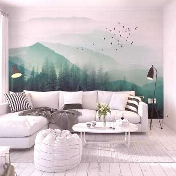 Fabulous Tips Choosing Murals And Wallpaper Design for Your Home The plan of your backdrop can rais