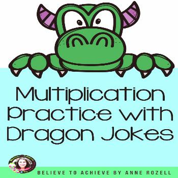 Grab these multiplication fact fluency task cards for your 2nd-3rd grade small groups, math rotatio