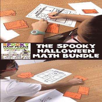 Have your kids challenged themselves this Halloween? With this Bundle of Halloween games and resour