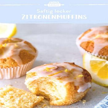 Lemon Muffins - Quick & Easy | The best baking recipes with guaranteed success#baking