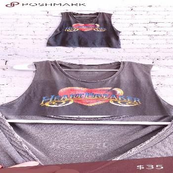 ?MIDNIGHT RIDER Muscle Tee ? The cutest muscle tee from Midnight Rider ✨ gray colored with