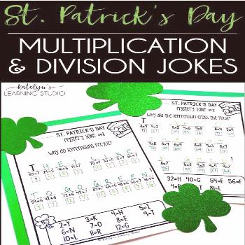 Multiplication and division of St. Patrick's day Multiplication and division of St. Patrick's day,