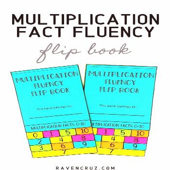 Multiplication Fact Flip Book I love flip books! This flip book in particular is the 2nd best-selli