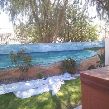 Murals For Backyard Walls - Wall Murals are large sized graphics, which are affi... ,  ... Murals F