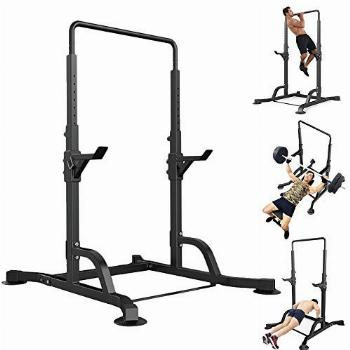 Qazqa Pull-up Chin Up Bar, Power Tower Free Standing Dip