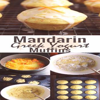 These fresh and moist mandarin orange muffins make a quick breakfast on the go or a healthy snack.