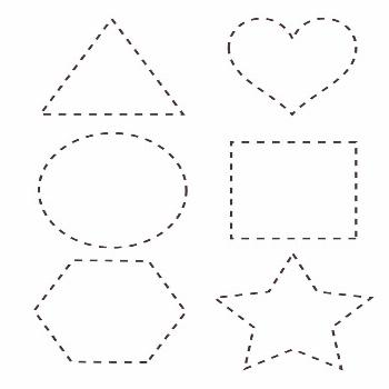 worksheets for 2 year olds tracing