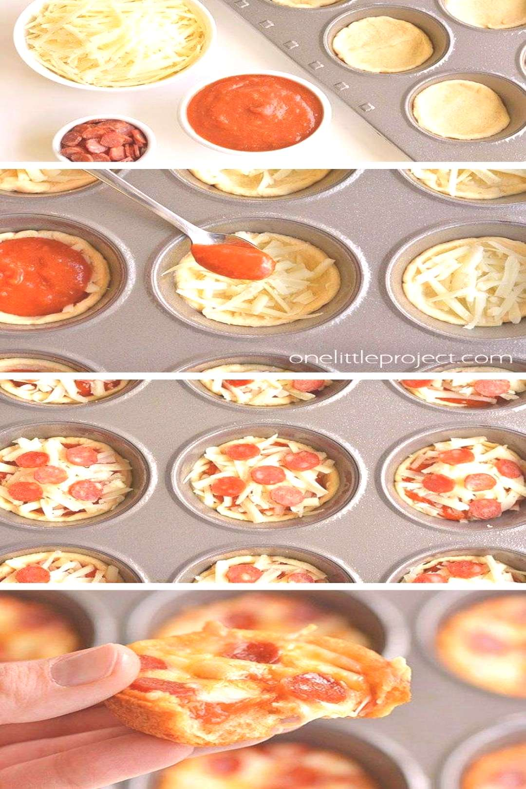 How to Make Deep Dish Mini Pizzas   Pizza Muffins#deep