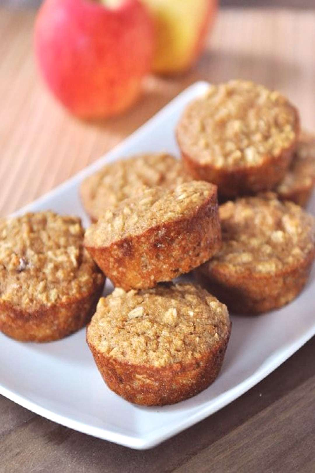 Not only are these oats and applesauce muffins healthy, but they are also moist, very delicious, an