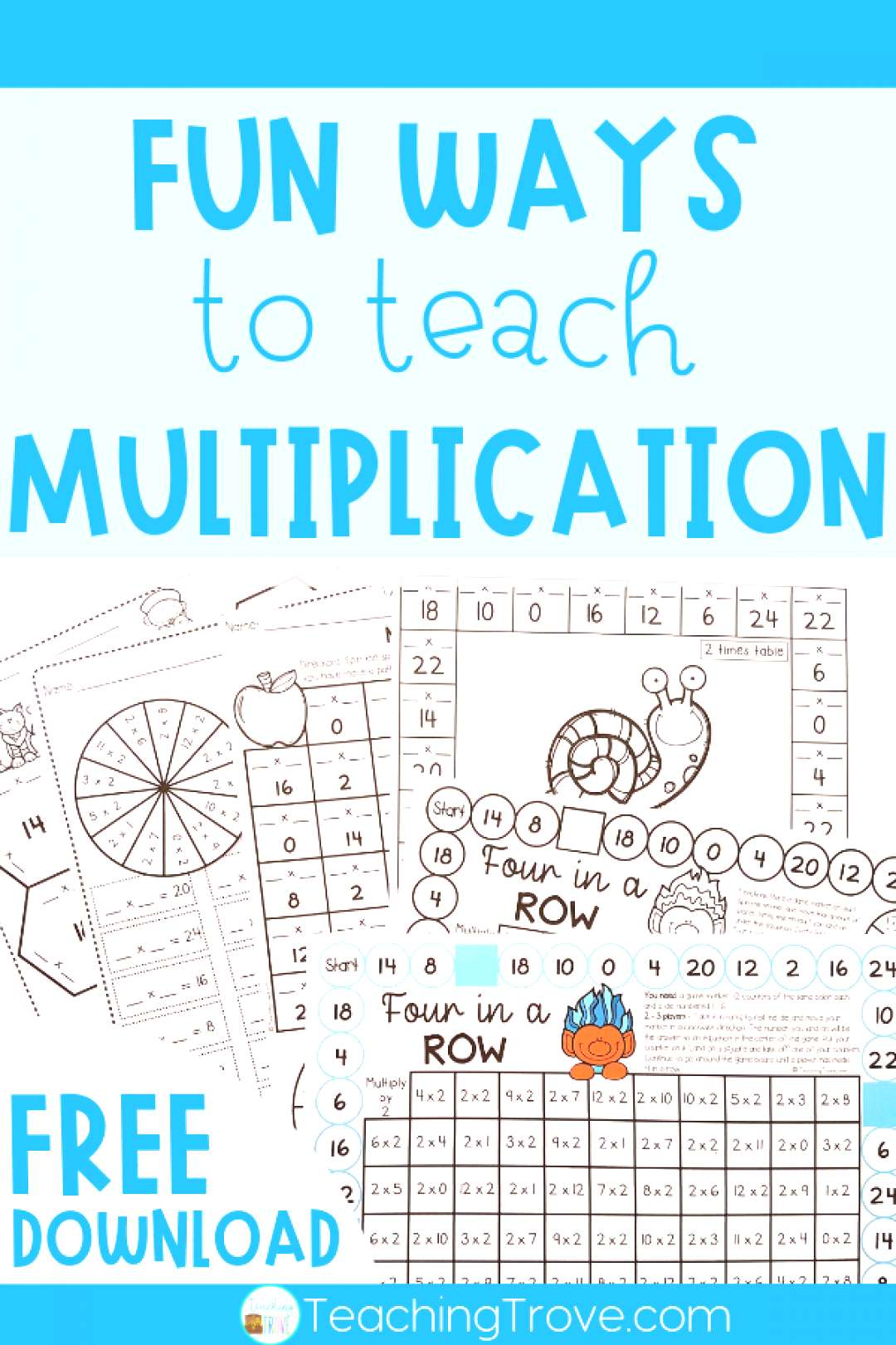 Teaching multiplication to your 3rd grade students should be fun. Use anchor charts and flip books